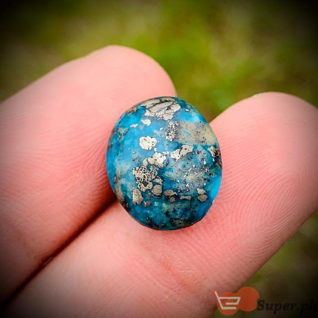 NAtural Turquoise Shajri Feroza TQ010